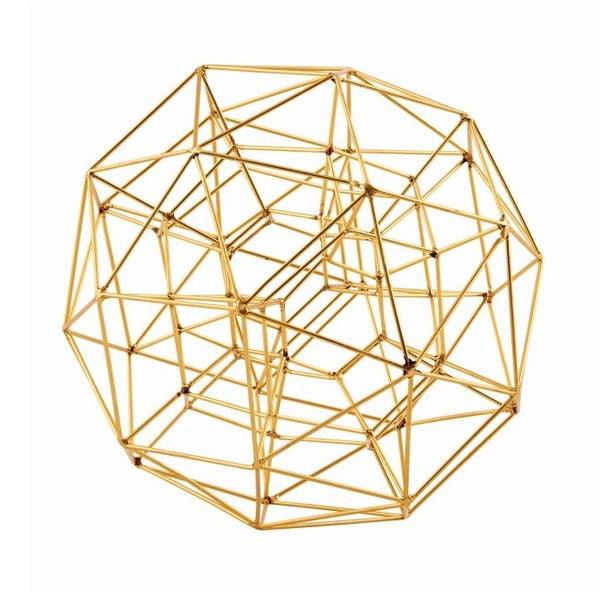 Dekoracja Globe Brass, 21 cm