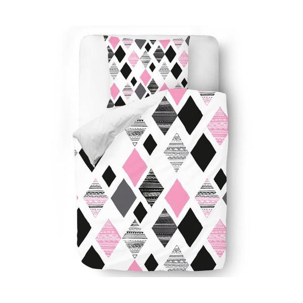 Pościel Pink Geometry, 140x200 cm