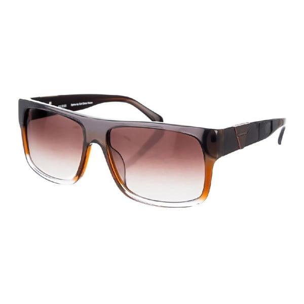 Męskie okulary przeciwsłoneczne Guess GU6767-BRN34