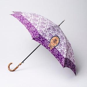 Parasol Alvarez Damask Purple Illustration