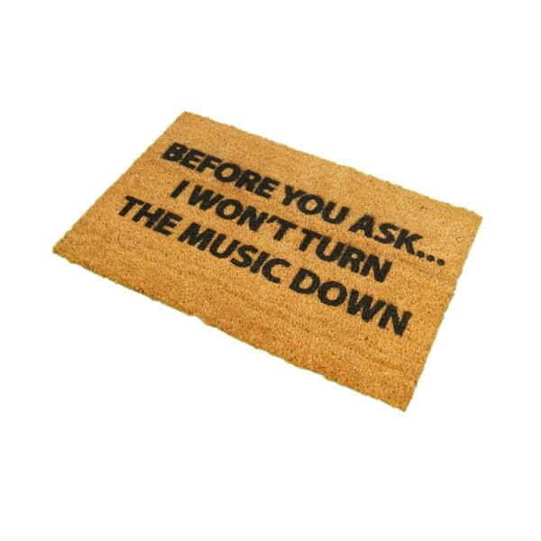 Wycieraczka Artsy Doormats Loud Music, 40x60 cm