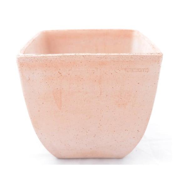 Doniczka ceramiczna Oll 28 cm, czerwona
