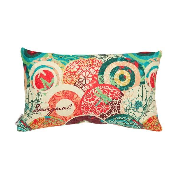 Poduszka DESIGUAL Red Japanese, 30x50 cm