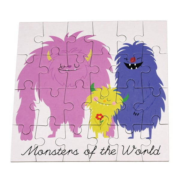 Puzzle 24 elementy Rex London Monsters Of The World