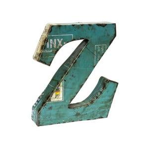 Litera Alfabeto Z