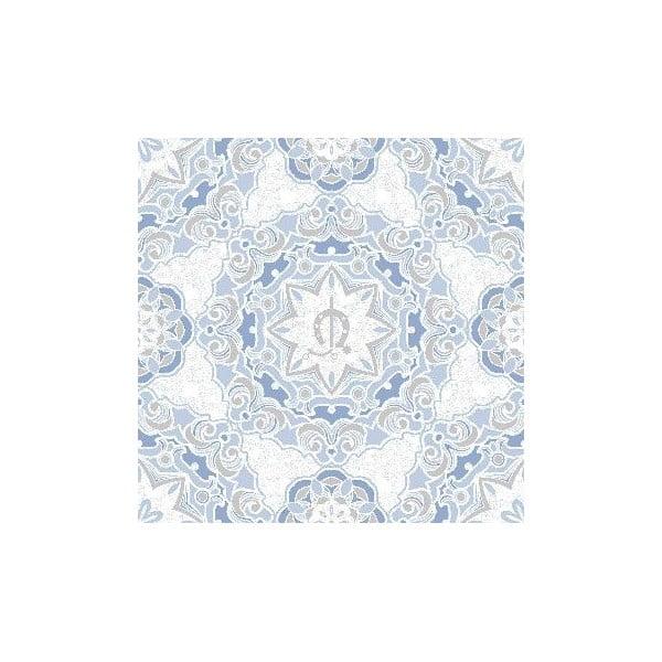 Zestaw pościeli i 2 poduszek Madrono Lavanda, 200x200 cm