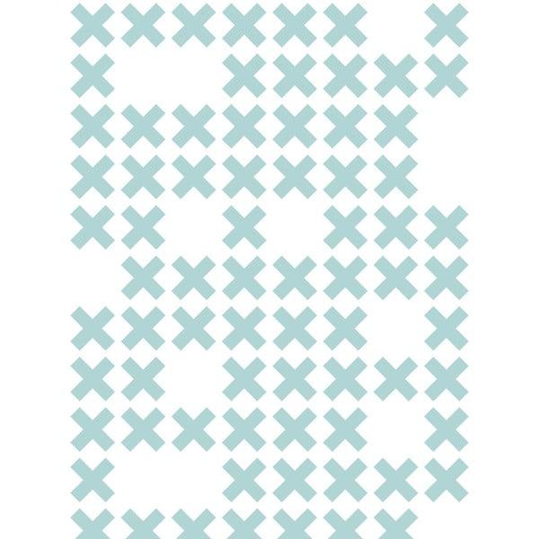 Fizelinowa tapeta System Blue, 0,53x10,05 m