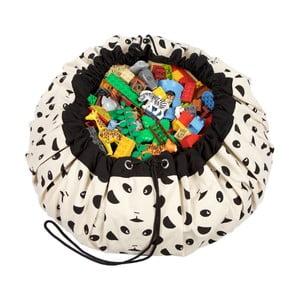 Mata do zabawy i worek na zabawki w jednym Play & Go Panda