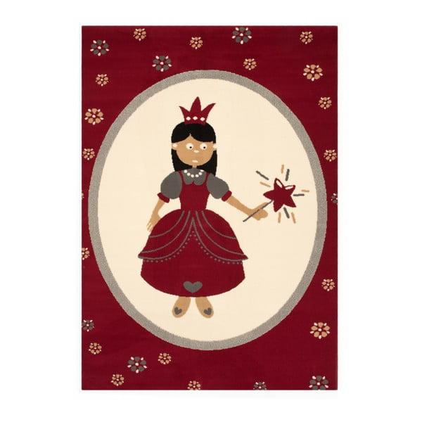 Czerwony dywan dziecięcy Hanse Home Princess, 140x200 cm