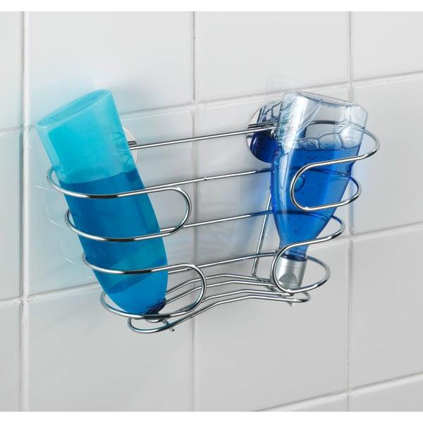 Samoprzyczepna półka na szampony Wenko Turbo-Loc, do 40 kg