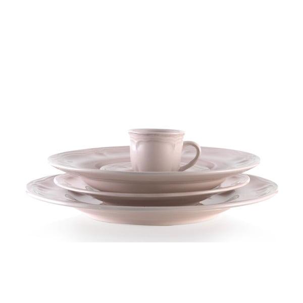 Zestaw ceramicznych naczyń Melange Pink