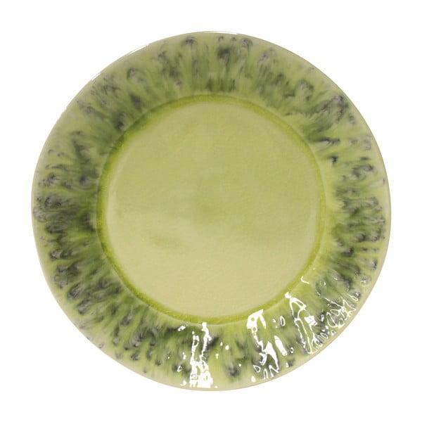 Zielony talerz ceramiczny Costa Nova Madeira, ⌀ 27 cm