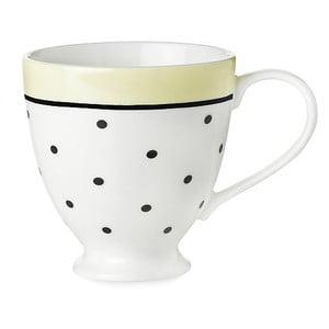 Kubek ceramiczny Miss Étoile Black Dots And Lemon
