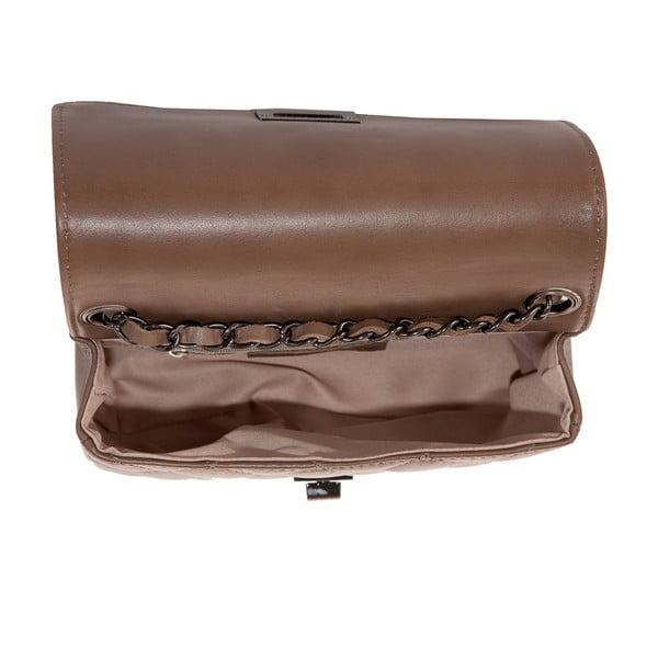 Skórzana torebka Andrea Cardone 2030 Taupe