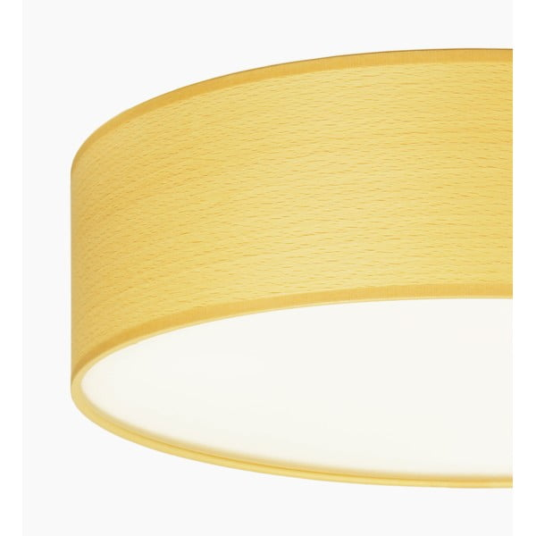 Lampa sufitowa w kolorze drewna bukowego Sotto Luce TSURI,Ø40cm