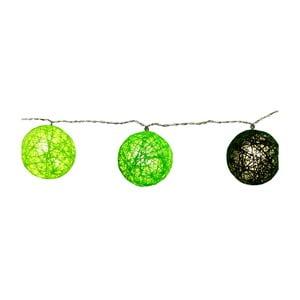 Zielona girlanda świetlna LED Best Season Jolly Lights, 10 lampek