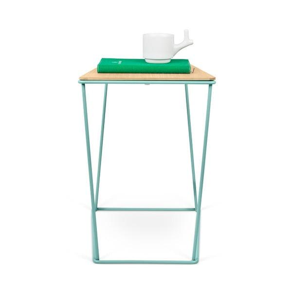 Stolik z zielonymi nogami TemaHome Opal