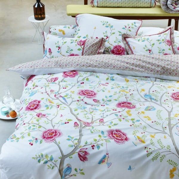 Pościel z poduszką Morning Glory 140x200 cm, white