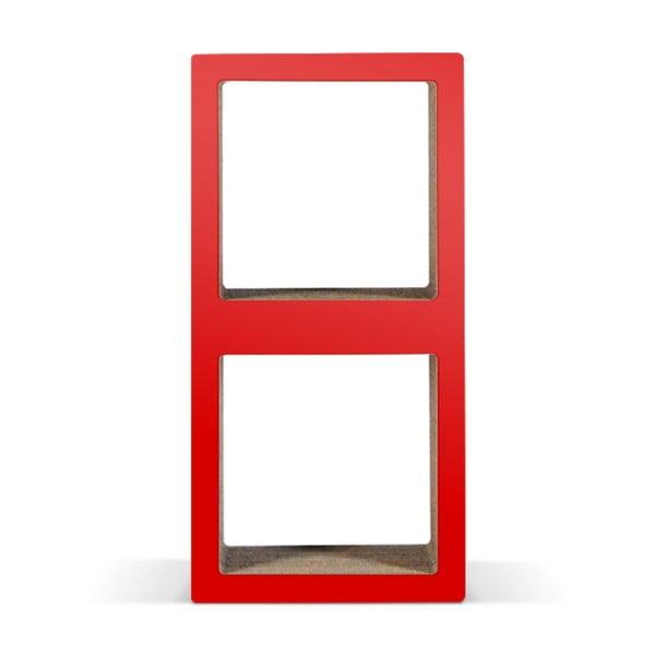 Kartonowa biblioteczka Bit Due Red