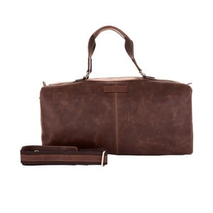 Męska torba podróżna Vintage Brown
