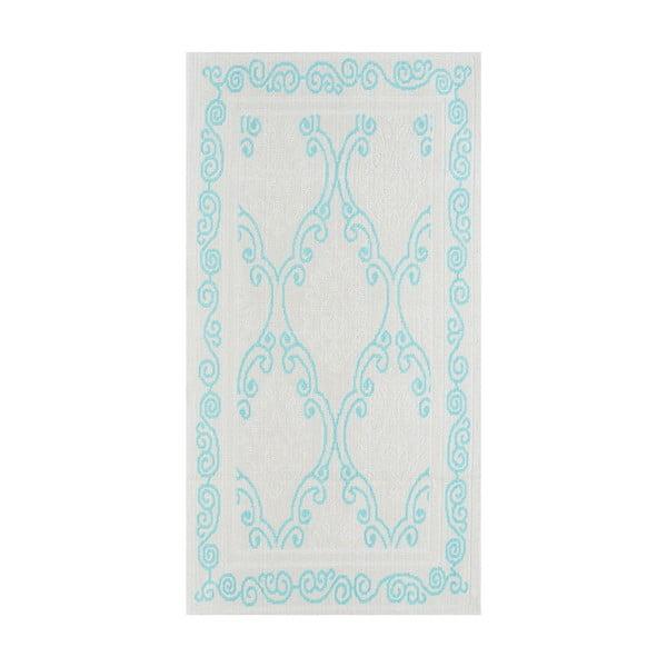 Niebieski wytrzymały dywan Primrose, 100x150 cm