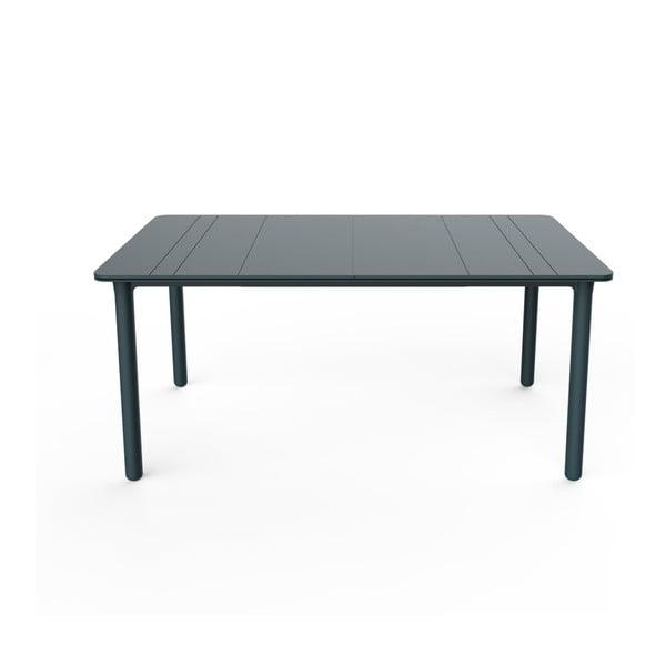 Ciemnoszary stół ogrodowy Resol NOA, 160x90cm