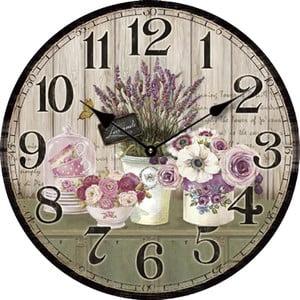 Zegar Lavender, 34 cm