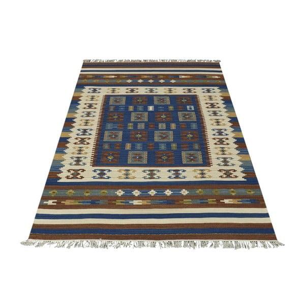 Ręcznie tkany dywan Kilim Classic 19121 Mix, 95x155 cm