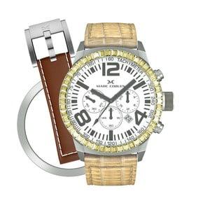 Zegarek damski Marc Coblen z dodatkowym paskiem i obręczą P69