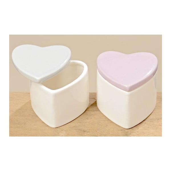 Zestaw 2 pudełek Heart