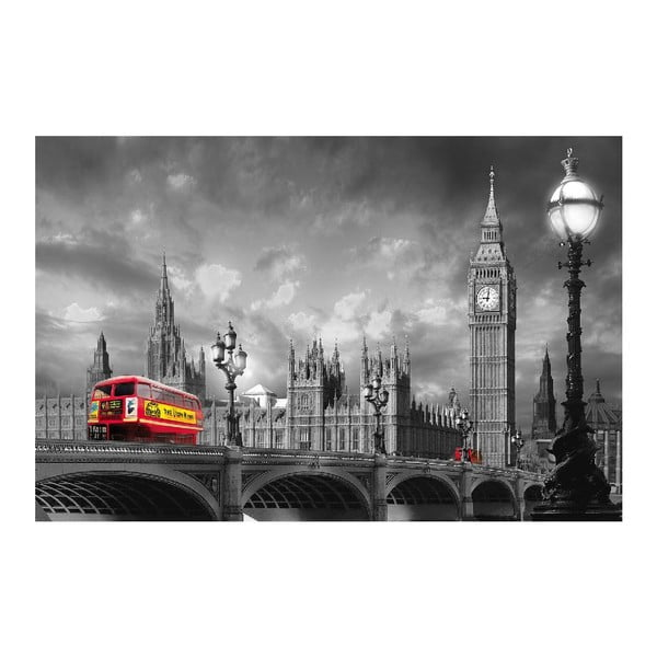 Plakat wielkoformatowy Bus On Westminster, 175x115 cm