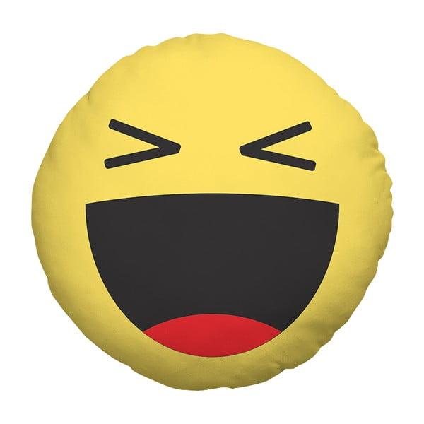 Poduszka Emoji Laugh, 39 cm