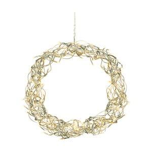 Wiszący wieniec świecący LED Best Season Curly Wreath