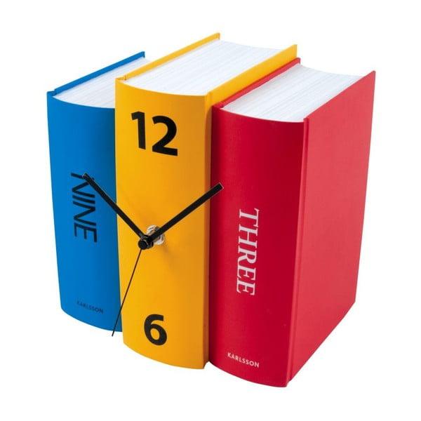 Zegar Book Colour