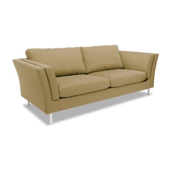 Beżowa sofa dwuosobowa VIVONITA Connor