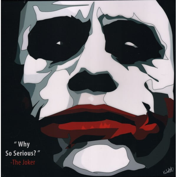 "Obraz ""The Joker - Why so serious"""