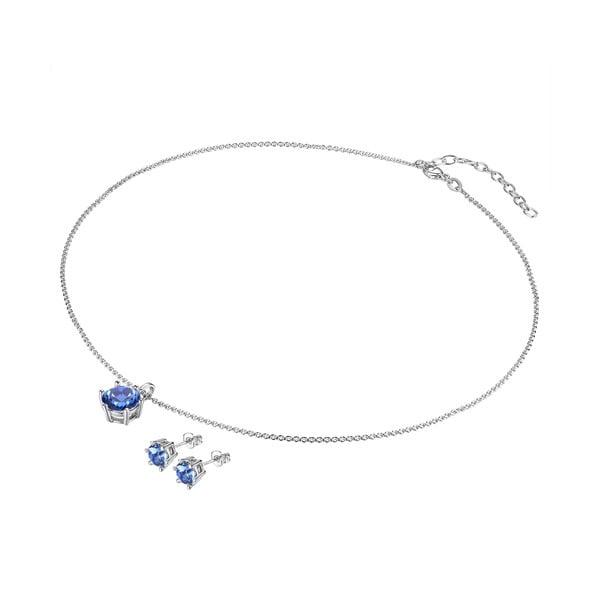 Naszyjnik i kolczyki z kryształami Swarovski Lilly & Chloe Aline