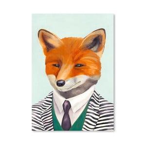 "Plakat ""Fox"", 30x42 cm"