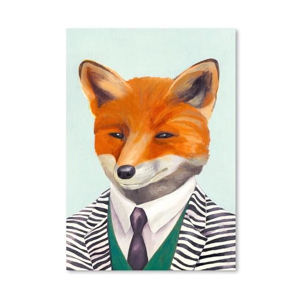 "Plakat ""Fox"", 42x60 cm"