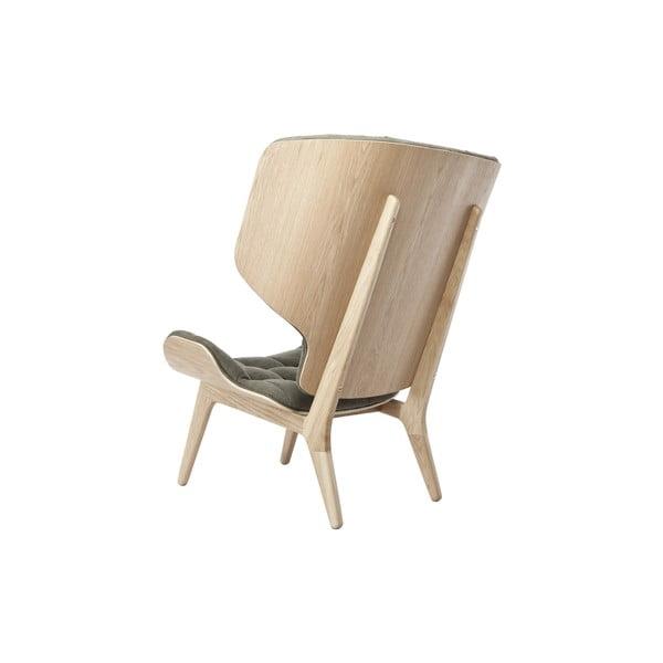 Czarny fotel NORR11 Mammoth