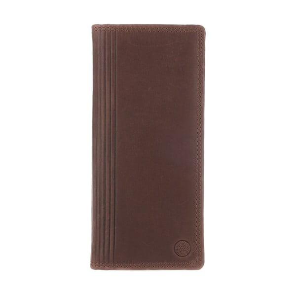 Skórzany portfel Hamilton Conker Brown