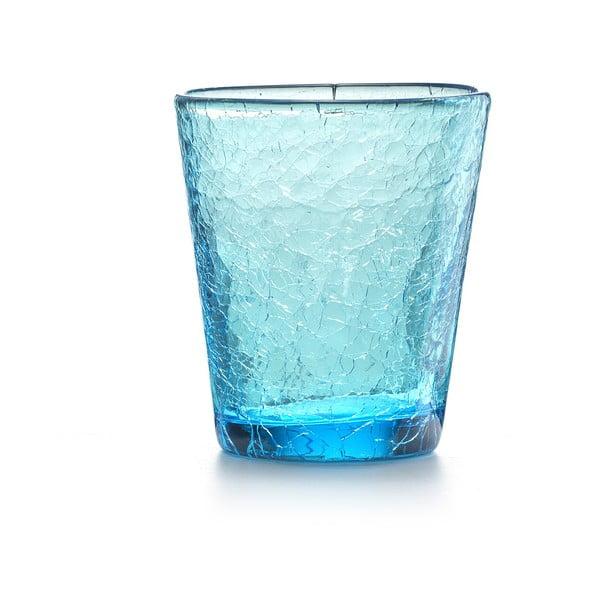 Zestaw 6 szt. szklanek Fade Ice, niebieskie