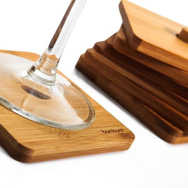 Zestaw 6 bambusowych podstawek Bambum Tilla