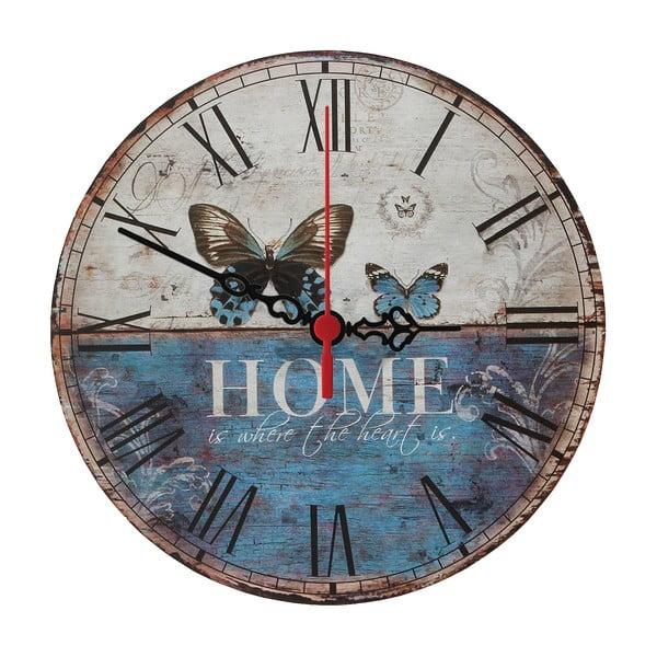 Zegar ścienny Home Is, 30 cm