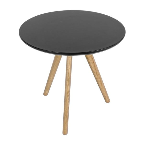 Stolik Luxembourg Black, 50x50 cm