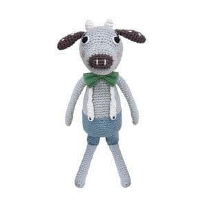 Szydełkowa zabawka Sebra Crochet Animal Cow Carl
