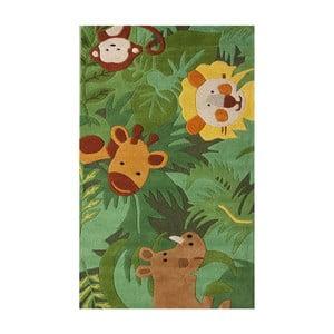 Dywan tuftowany ręcznie nuLOOM Jungle, 107x168 cm
