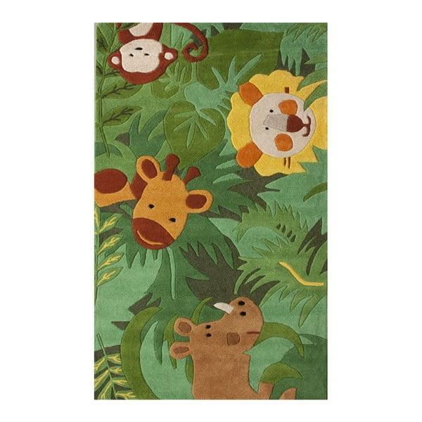 Dywan tuftowany ręcznie nuLOOM Jungle, 152x244 cm