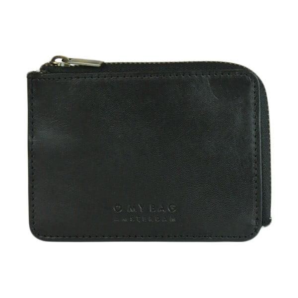 Skórzany portfel O My Bag Zip Coin Classic Dark