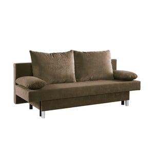 Brązowa sofa rozkładana 13Casa Shade